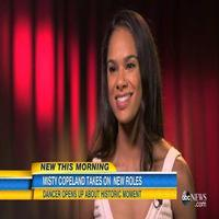 VIDEO: Misty Copeland Talks Becoming ABT's First African American Principal Dancer on GMA