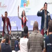 BWW TV: FUERZA BRUTA Dances its Way Through Bryant Park!