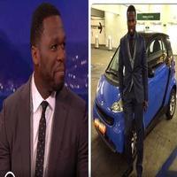 VIDEO: Curtis '50 Cent' Jackson Talks Recent Bankruptcy Filing on CONAN