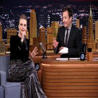 VIDEO: Cara Delevingne Spits Out a Freestyle Beatbox on TONIGHT!