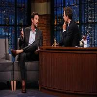 VIDEO: Pablo Schreiber Chats Starring in Most Impressive Vomit Scene Ever on TV on LATE NIGHT