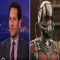 VIDEO: Paul Rudd Shares 'Exclusive' ANT MAN Clip on CONAN