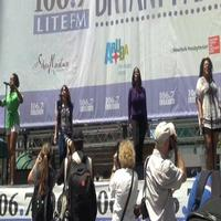 BWW TV: Cast of SISTAS Belts It Out at BROADWAY IN BRYANT PARK