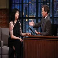 VIDEO: Margaret Cho Talks Golden Globes Appearance & More on LATE NIGHT