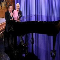 VIDEO: Chevy Chase & Jimmy Play Piano Duet on TONIGHT SHOW