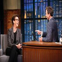 VIDEO: Rachel Maddow Talks Donald Trump's Presidential Campaign on LATE NIGHT