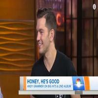 VIDEO: Andy Grammer Talks Big Hits & New Album on TODAY