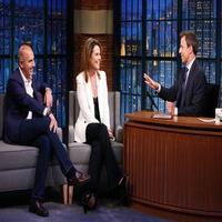 VIDEO: Matt Lauer & Savannah Guthrie Talk Trump, Sharknado 3 & More on LATE NIGHT