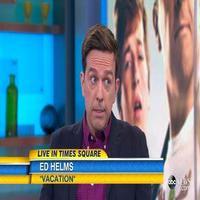 VIDEO: Ed Helms Talks 'Vacation'; Singing Career on GMA