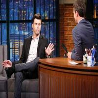 VIDEO: Colin Jost Talks SNL, New Film & More on LATE NIGHT