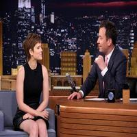 VIDEO: Kate Mara Talks 'Fantastic Four' & More on TONIGHT SHOW