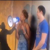 STAGE TUBE: Jonathan Groff & Emmy Raver-Lampman Treat Fans to 'White Boys' at HAM4HAM