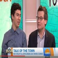 VIDEO: 'Paper Towns' Nat Wolff And John Green Talks New Film on TODAY