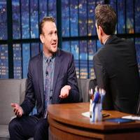 VIDEO: Jason Segel Talks New Film 'The End of the Tour' on LATE NIGHT