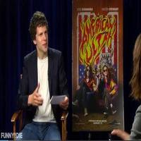 VIDEO: AMERICAN ULTRA's Jesse Eisenberg & Kristen Stewart Parody Red Carpet Interview Questions