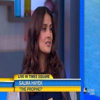 VIDEO: Salma Hayak Talks Lending Her Voice to New Animated Film THE PROPHET