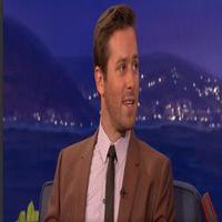 VIDEO: Armie Hammer Chats Disastrous Shawne Merriman Sparring Session on CONAN