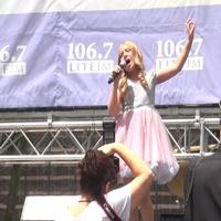 BWW TV: RUTHLESS! Company Belts it Out in Bryant Park!