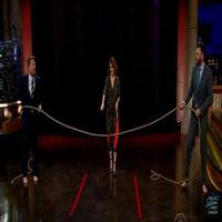 VIDEO: Joel McHale & James Corden Compete in Tug of War on LATE LATE SHOW