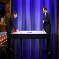 VIDEO: Watch 'Beer Hockey' with Taylor Kitsch on TONIGHT SHOW!