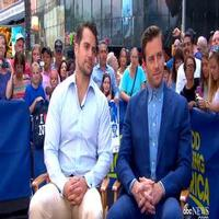VIDEO: Henry Cavill & Armie Hammer Chat New Spy Film MAN FROM U.N.C.L.E. on GMA