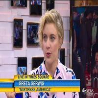 VIDEO: Greta Gerwig Talks New Film MISTRESS AMERICA on GMA