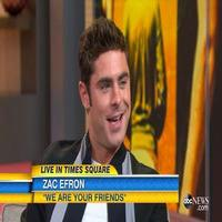 VIDEO: Zac Efron Discusses WE ARE YOUR FRIENDS 'We Are Your Friends'