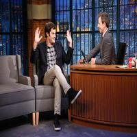 VIDEO: Bill Hader Talks Documentary Now!, Emmy Nod & More on LATE NIGHT