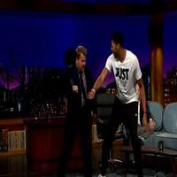 VIDEO: Anthony Davis Demos Whip & Nae Nae on JAMES CORDEN
