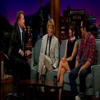 VIDEO: Owen Wilson & Johnny Knoxville on Hanging with Willie Nelson on THE LATE LATE SHOW