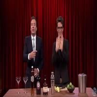 VIDEO: Jimmy Mixes Cocktails with Rachel Maddow on TONIGHT