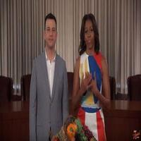 VIDEO: Eat Your Effin Vees with Jimmy and First Lady Michelle Obama on JIMMY KIMMEL LIVE