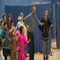 VIDEO: President Obama Shows Off His Dance Moves During Alaskan School Visit
