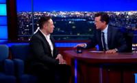 VIDEO: Stephen Asks Elon Musk If He's a Super Villain on THE COLBERT REPORT