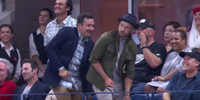 VIDEO: Jimmy Fallon and Justin Timberlake Channel Beyonce at US Open