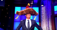 VIDEO: Stephen's Furry Hat Makes Important Proclamations on LATE SHOW