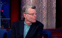 VIDEO: Author Stephen King Talks Early Criticism of His Work on COLBERT