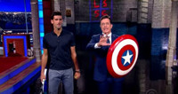 VIDEO: Stephen Faces Off Against U.S. Open Champ Novak Djokovic on LATE SHOW