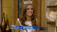 VIDEO: Newly Crowned Miss America Talks Broadway Aspirations on LIVE!