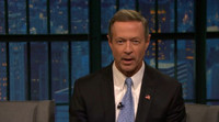 VIDEO: Gov. Martin O'Malley Talks Rock Star Past on LATE NIGHT