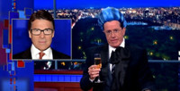 VIDEO: Stephen Colbert Mocks Republican Campaign with HUNGER GAMES Parody