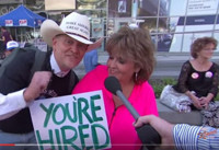 VIDEO: JIMMY KIMMEL LIVE Stops By Dallas Donald Trump Rally