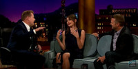 VIDEO: Emily Mortimer and Chris O'Donnell Visit JAMES CORDEN