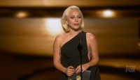 VIDEO: Lady Gaga Presents at 67th Annual EMMY AWARDS