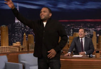 VIDEO: Anthony Anderson Relives 8th Grade with Performance of Whitney Houston Classic