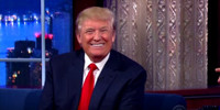 VIDEO: Donald Trump Tells COLBERT He Has Nothing to Apologize For
