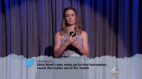 VIDEO: Emily Blunt, Andrew Garfield & More Read MEAN TWEETS Live on 'Kimmel'
