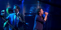 VIDEO: Stephen Colbert Rocks Out with Pearl Jam on LATE SHOW