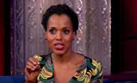 VIDEO: Kerry Washington Talks Real Life Olivia Pope on LATE SHOW