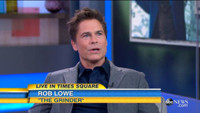 VIDEO: Rob Lowe Talks New TV Comedy THE GRINDER on GMA
